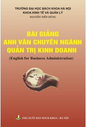 Bài giảng Anh văn chuyên ngành quản trị kinh doanh