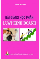 Bài giảng học phần luật kinh doanh