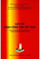 Đề cương bài giảng Lịch sử Đảng cộng sản Việt Nam